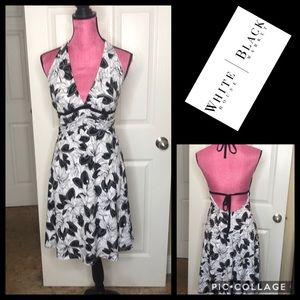 NWT whbm halter top dress Sz 4